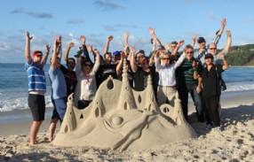 Team Sand Sculpture