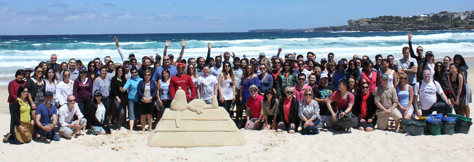 Beach Team Building Events - SandSculpting