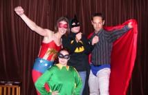 Super heros team building